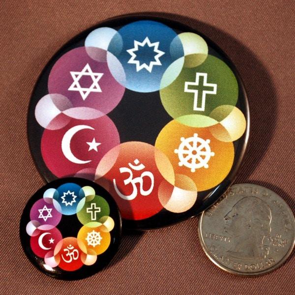 1″ Mini Interfaith Button