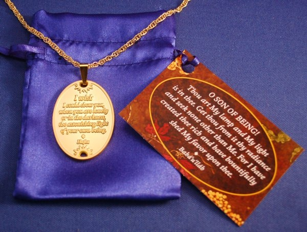 You Are Loved Gold Pendant with Chain